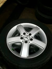 Mercedes rims and tires 205 55 16 Mississauga