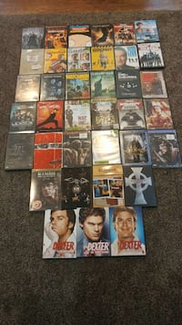 assorted DVD movie cases Brant, N3L 2P2