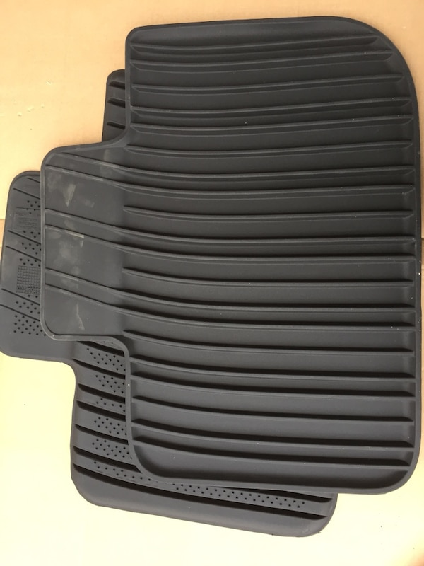 New. two black car mats for 2013 Charger