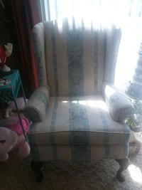 gray and white floral sofa chair Gambrills, 21054