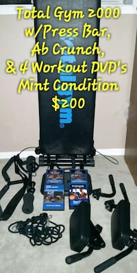 Total Gym 2000 w/ Accessories