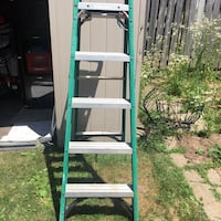 green and gray A-frame ladder Welland, L3C 6G8