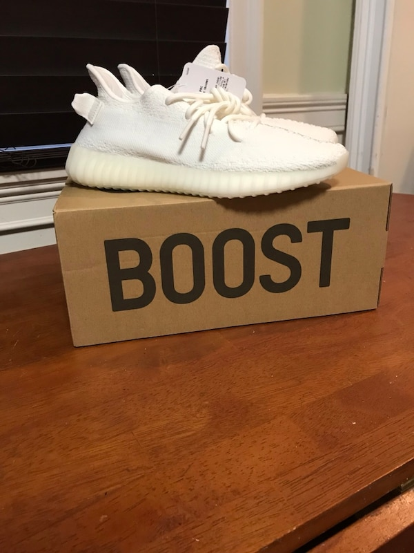 48d5ef5725eb1 Yeezy Boost 350V Cream Triple White size 8. HomeFashion and Accessories New  York