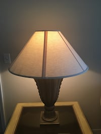 Bronze and white lamp(2) Kissimmee, 34759