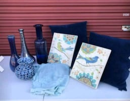 Vases, art, and pillows!!!