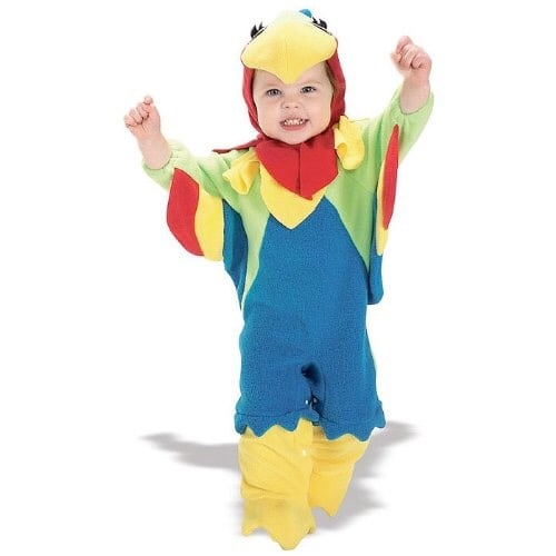 Baby Boys' Parrot Costume, Scully from Jake, Newborn, 0 - 9 months
