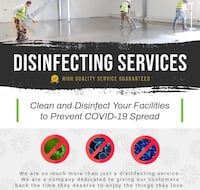Residential / Commercial Disinfecting Toronto