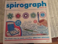 Unused spirograph set. Fairfax, 22030