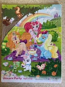 Puzzles   Set of 4 (Ages 3+)