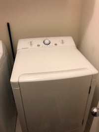 white front-load clothes washer Washington