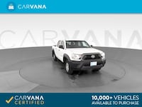 2013 Toyota Tacoma Double Cab pickup Pickup 4D 5 ft White <br Providence