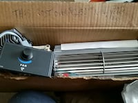 Fireplace stove blower fan replacement kit