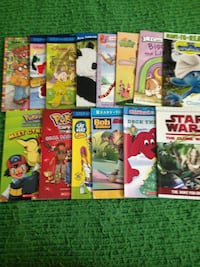 Children's assorted book collection