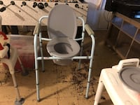 white and gray elliptical trainer College Park, 20740