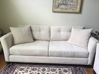 Moving Sale! Cream sofa and loveseat set Hanover, 21076