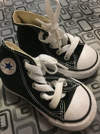 Toddler's black converse high top sneaker Toronto, M6B 3R3