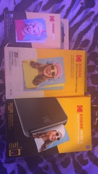 kodak.   mini 2  printer . with all in one cartridge and photo paper Alto, 30510