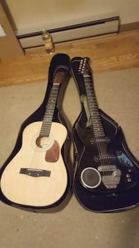 Acoustic guitar and sysnsonic terminator  with bui Thurmont, 21788