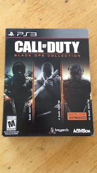 Call of Duty Black Ops Collection PS3 Windsor, B0N 2T0