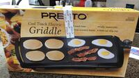 presto griddle, new, in a box, never opened Richmond, 77407