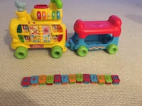 Vtech Alphabet Train- great condition hS all letter blocks Springfield, 22153