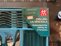 Henckels International - Flatware 30 pics. FIRM $100 Surrey, V3V 5W4