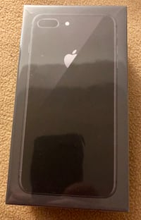 iPhone 8 plus, Space Gray, Sealed Box Laval