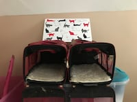 Two black-and-red cat carrier's Malden, 02148