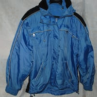 Unisex 2-in-1 WINTER JACKET - M - BLUE