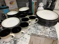 Dining plates, bowls, and coffee mugs (7-8 each) Lombard, 60148