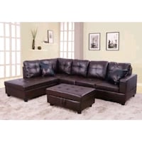 Sectional sofa - 5 seater with ottomon Jacksonville, 32256
