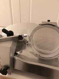 "Slicer 14"" used just couple of times, selling because too big for me. Kleinburg, L4H 4K9"