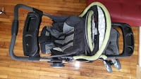 baby's black and gray car seat carrier Silver Spring