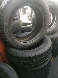 4 Goodyear tires 255/55/19