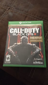 Call of duty black ops iii xbox one game  Price, 84501