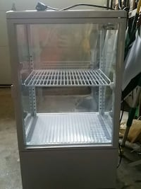 White clear glass display chiller Dumont, 07628