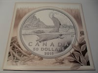 Royal Canadian Mint $50 For $50 Series Silver Coins Mississauga