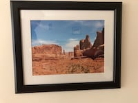 Black IKEA frame includes photo of Arches National Park Utah Bethesda, 20814