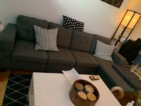 Sectional couch Toronto, M6L 1A8
