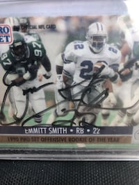 Autographed Emmitt Smith 1990 Rookie Card Albuquerque, 87106