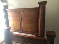 brown wooden cabinet with drawer Killeen, 76541