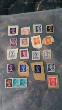 All 19 vintage stamps for $ 15 collectables  Colton