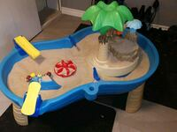 Water or sand play table.
