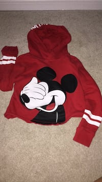red and white Mickey Mouse print sweater New Tecumseth, L9R 1M4