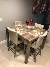 Brand new dining room set with four chairs Elizabeth, 07208