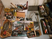 Lots of tools, Buck or two (or less) each, Garage Sale, Best offer