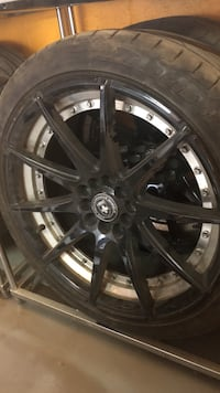 18 inch rims and tires Toronto, M9L 1Z8