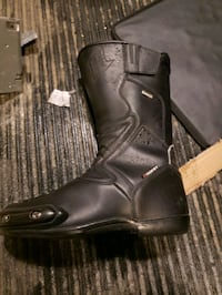 Mans Drytech motorcycle riding boots