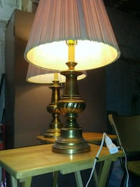 ANTIQUE SOLID BRASS TABLE LAMPS  Evansville, 47711