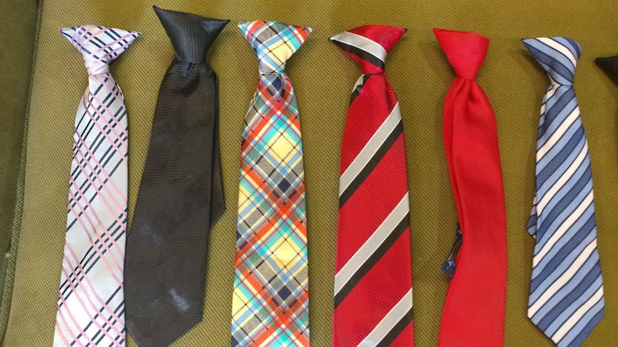 YOUTH SIZE TIES ($3 EACH) 1